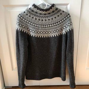 Nordic wool sweater LL Bean size M